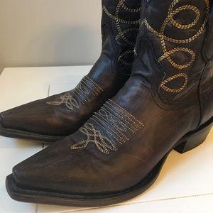e899bbfac77 Stetson Women's Abby Low Cowboy Boots